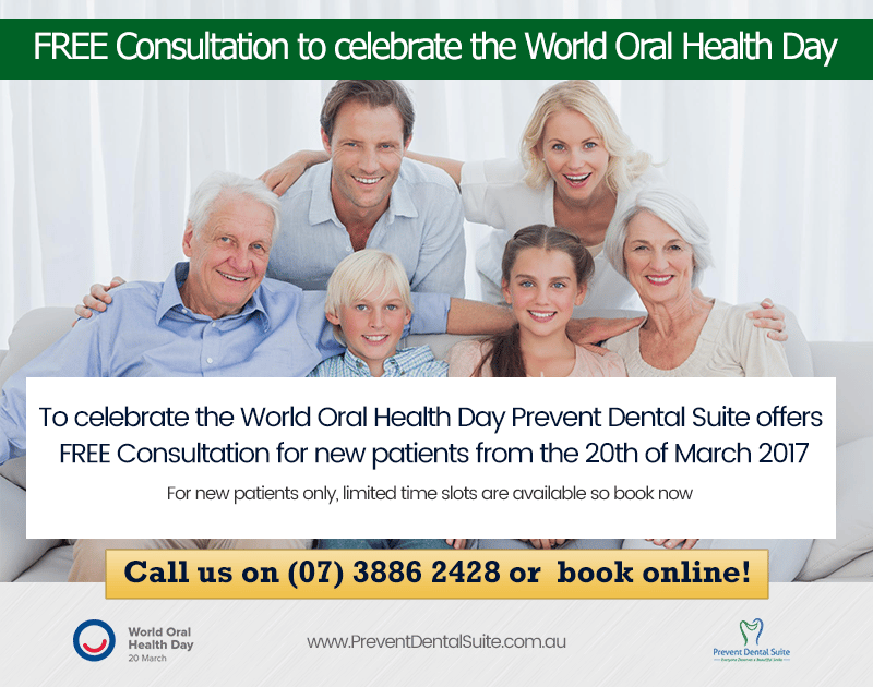 FREE Consultation to celebrate the World Oral Health Day | Dentist Kallangur