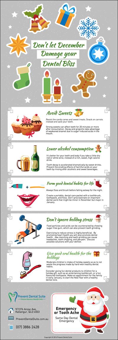 Don't let December Damage your Dental Bliss
